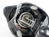 Calcified water boiler — Stock Photo
