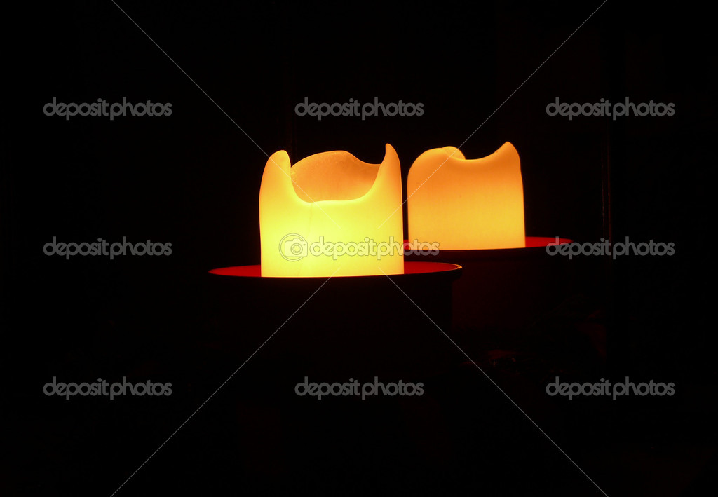 Candlelight night — Stock Photo #8247715