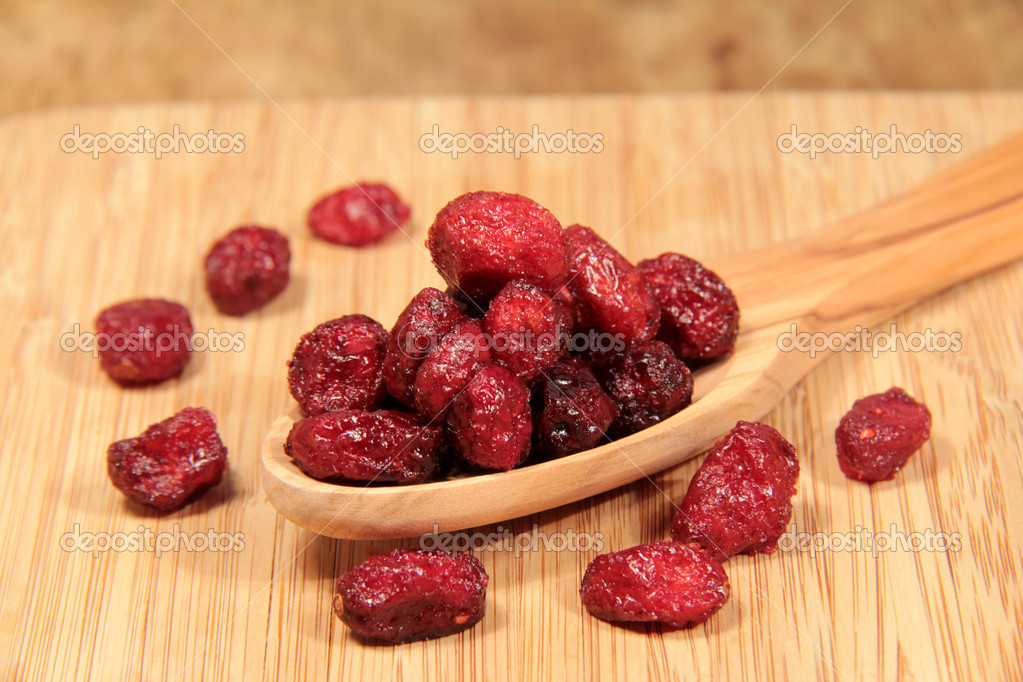 Dried cranberries — Stock Photo #9255241