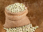 Peas seeds — Stock Photo