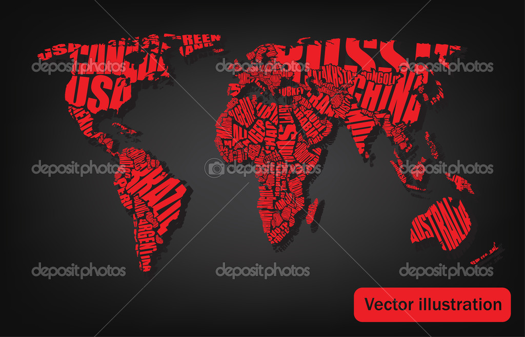 Typography world map hd typography world map hd photo 21 gumiabroncs Image collections