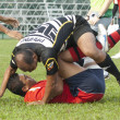 Stock Photo: Rugby Players in Action