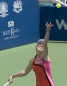 Jelena jankovic serbien dient — Stockfoto
