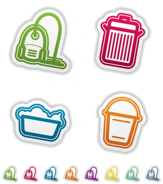 Cleaning Items — Stock Photo #10610347