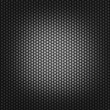 Square rubber dark background — Stock Photo