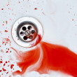 Royalty-Free Stock Photo: Bloody sink background