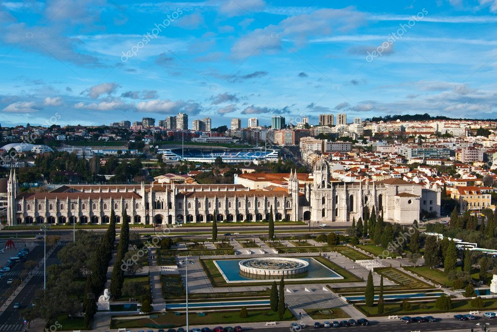 View of the Mosteiro dos Jeronimos in Lisbon  Stock Photo #10369334