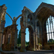 Melrose Abbey - Foto Stock