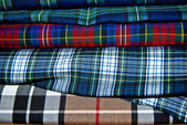 Scottish textils — Stock Photo