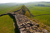 Hadrian's wall — Stock Photo