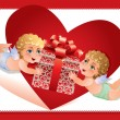 Valentine card — Stock vektor #9253614