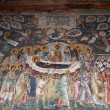 Assumption of Mary, medieval fresco, Staro Nagoricane, Macedonia — Stock Photo