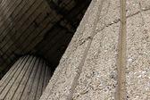 Detail of concrete construction — Stock Photo
