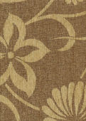 Upholstery texture with floral pattern — Stock Photo