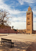 Marrakesh city mosque — Stock Photo