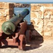 Old cannon in the fort — Stock Photo #9370810