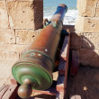 Old cannon in the fort — Stock Photo #9370820