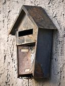 Mail box-damaged — Stock Photo
