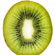 Kiwi Fruit Cross Section — Stock Photo
