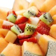 Fruit salad Close-up - Stock Photo