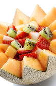 Close-up de salade de fruits frais — Photo