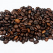 Black coffee bean — Stock Photo