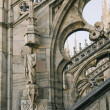 Stock Photo: Fragment of Duomo Cathedral in Milan