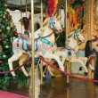 Stock Photo: Christmas carousel