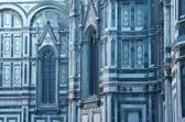 Decor of Duomo Cathedral — Stock Photo