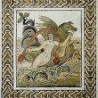 Roman mosaic of the abduction of Europe — Stock Photo