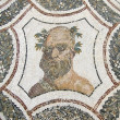 Stockfoto: Head of Bacchus. Rommosaic.