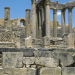 Dougga. Ruins. — Stock Photo