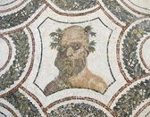 The head of Bacchus. Roman mosaic. — Stock Photo