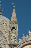 скульптуры собора сан-марко — Стоковое фото