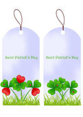 Vector illustration dedicated to Saint Patrick's Day — Stock Vector