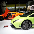 Stockfoto: Lamborghini Gallardo LP 570-4 Superleggersport car on display