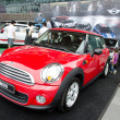 Mini Cooper car - Stock Photo