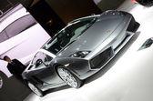 Lamborghini Gallardo LP 560-4 Noctis sport car on display — Stock Photo