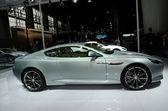 Aston Martin Virage sport car on display — Stock Photo