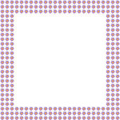 Pink lily flower frame background — Stock Photo