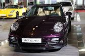 Porsche 911 turbo sport car on display — Stock Photo