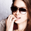 Royalty-Free Stock Photo: Girl with sunglasses