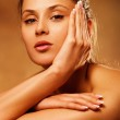 Beauty in spa — Stock Photo #10189825