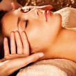 Face massage — Stock Photo #10189829
