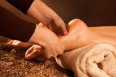Massage des pieds — Photo