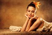 Enjoy in spa — Stock Photo