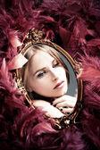 Beauty reflection — Stock Photo