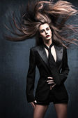 Vlasy fly — Stock fotografie