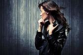 Melancholy woman — Стоковое фото
