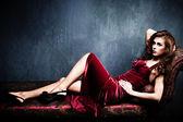 Mujer sensual elegante — Foto de Stock
